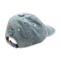 Give your baby a cute accessory to top off the look with a nifty denim cap. Available in size 6-12 months. Machine wash. Imported. Item #RA42017