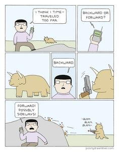 Poorly Drawn Lines – Time Traveled