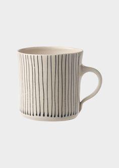 linea stripe mug / toast