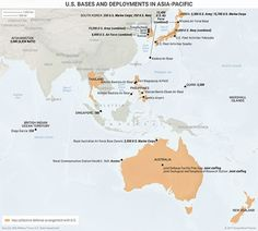 2 Maps That Show The US' Strategy In Asia-Pacific | Mauldin Economics