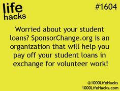 Student Loan help/hack #provestra