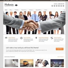 Modernize WordPress Theme by Themeforest. Find review, analysis, compare results with other free and premium themes. Modernize Theme Review on PurposeThemes.