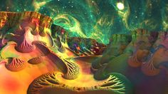 Calming, Colorful, Space Surf by Swoopswatkill on DeviantArt