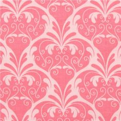 pale pink Riley Blake ornament fabric from the USA
