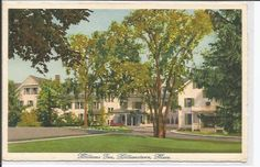 Williams Inn, Williamstown, Mass.  Card is made in Switzerland by Atelier Graphique