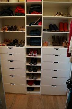 Kuzak's Closet Organized Closet