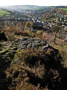 Holmfirth from Cliffe copyright to Tony Butterworth Photography, send into www.holmfirth.info