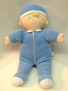 Cute! Baby Billy Blue - A First Doll for Boys
