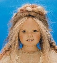 Annette Himstedt dolls, collectible dolls, Aleta collectible Doll