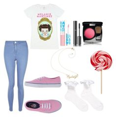 """""""CryBaby"""" by taneyiah on Polyvore featuring New Look, Vans, Maybelline and Chanel"""