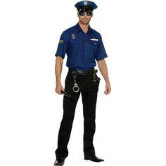 | Police Officer Oliver Clothesoff Halloween Costume