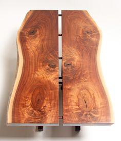hughes woodworks, walnut table