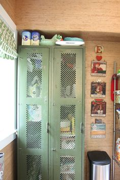 25 Upcycled Lockers and Card Catalogs  It's SCHOOL TIME!