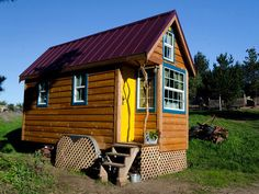 Ella built her Fencl after attending one of our workshops. Now Ella attends the Tumbleweed Tiny House Workshops as a presenter and shows you how to build your own.