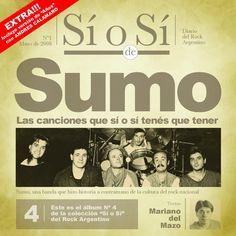 """""""La Rubia Tarada"""" by Sumo was added to my Descubrimiento semanal playlist on Spotify"""