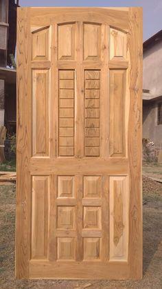 House Main Door Design, Wooden Front Door Design, Grill Door Design, Wood Bed Design, Room Door Design, Wooden Front Doors, Best Door Designs, Door Design Images, Luxury House Plans