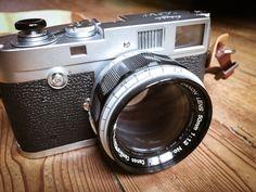 Le couple du moment : Leica M2 & Canon LTM 50 f1.2 | Emmanuel Champagne
