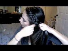 Lauren Conrad Side Braid Hair