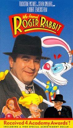 Who Framed Roger Rabbit [VHS] VHS ~ Bob Hoskins, http://www.amazon.com/dp/6301404440/ref=cm_sw_r_pi_dp_j8hyqb0K7HE4M