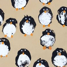 Make your wrapping paper as magical as the present inside with our DIY gift wrap. We show you how to make potato print penguins and ribbon trees