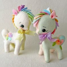 My Sweet Pony felt patterns - Gingermelon
