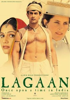 "Movie #81: ""Lagaan"" 2001 indian movie.  Starring Aamir Khan."