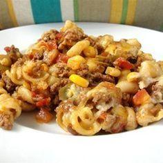 Easy Mexican Goulash - Allrecipes.com                                                                                                                                                                                 More