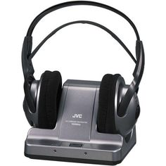 JVC Premium Lightweight Wireless Noise Reduction Hi-Fi Stereo Headphones Perfect for use with your TV, Computer or Hi-Fi Audio