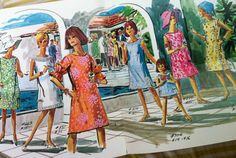 ~Lilly catalog image from the 60's or 70's~