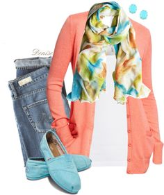 A fashion look from February 2013 featuring Old Navy cardigans, Splendid tops and AG Adriano Goldschmied jeans. Browse and shop related looks. Casual Outfits, Summer Outfits, Fashion Outfits, Pretty Outfits, Cute Outfits, Deconstruction Fashion, Boyfriend Cardigan, Mommy Style, Types Of Fashion Styles