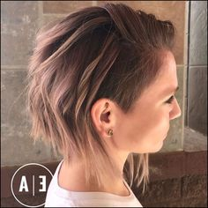 20 Cute Shaved Hairstyles for Women | Undercut, Bobs and Shaved ...