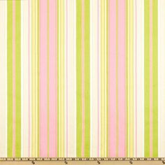 Premier Prints Terrace Stripe Gate/Baby Pink - Fabric Online