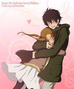 Haru and Shizuku   My Little Monster