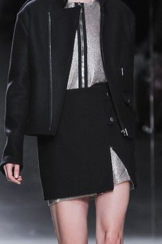 Anthony Vaccarello at Paris Fall 2014 inspired dFly / Mode Funk 3
