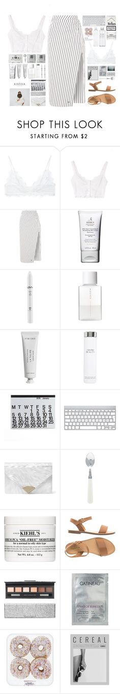 """""""Untitled #36"""" by stipa13 ❤ liked on Polyvore featuring Anine Bing, Off-White, CASSETTE, Kiehl's, NYX, SUQQU, Byredo, Calvin Klein, Crate and Barrel and MICHAEL Michael Kors"""