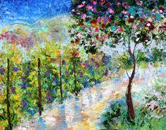 Original oil painting Napa Valley #Vineyard by Karensfineart