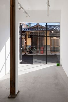 Framing, Old meets new Japanese home