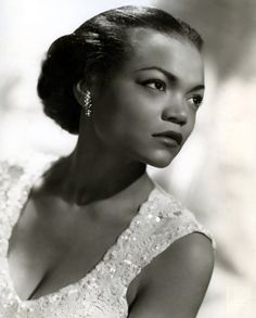 Eartha Kitt. My goodness...she was breath-taking. Gorgeous.