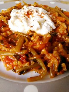 H μάνα του ... λόχου: Γλιστρίδα με ρύζι Greek Cooking, Chili, Soup, Traditional, Chile, Soups, Chilis