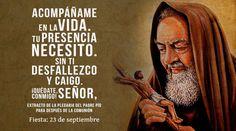 QUÉDATE, SEÑOR, CONMIGO (Plegaria del Padre Pío para después de la comunión)
