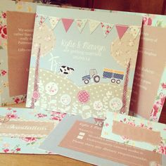 1000 Images About Wedding Invitations On Pinterest Tractor Wedding Tracto