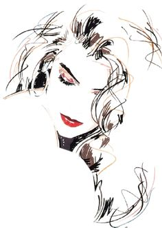 It takes a minute to have a crush on someone an hour to like someone and a day to love someone but it takes a lifetime to forget someone. Fashion Illustration Sketches, Portrait Illustration, Art Sketches, Pencil Art Drawings, Cool Drawings, Pop Art, Kunst Poster, Sketch Painting, Watercolor Portraits