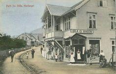 Hordaland fylke Odda kommune Hardanger Ola G. Hagens forretning tidlig 1900-tall