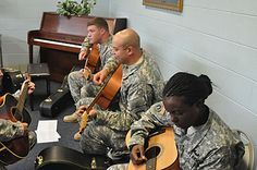 Wounded warriors 'SOAR,' find strength through music therapy