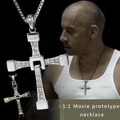Vin Diesel kruis Zinc Alloy