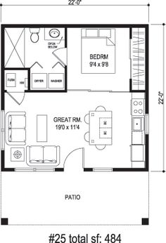 Small Casita Floor Plans Casita Home Plans Home Plans To Build
