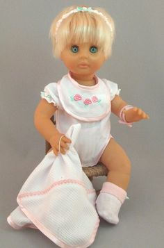 First Love doll.I had one of these too, but it looked more chubby baby faced than this :-) Chubby Babies, Retro Sweets, My Children, Kids, Old Love, My Youth, My Childhood Memories, Vintage Dolls, Vintage Advertisements