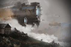 The Arrival by Digitalkthx | Fantasy | 2D | CGSociety