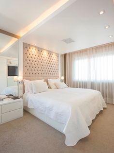 Construindo Minha Casa Clean: Quartos Modernos Decorados com Pórtico - Veja Dicas e Ideias!