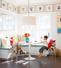 Tips on how to decorate with pictures and create gallery walls.